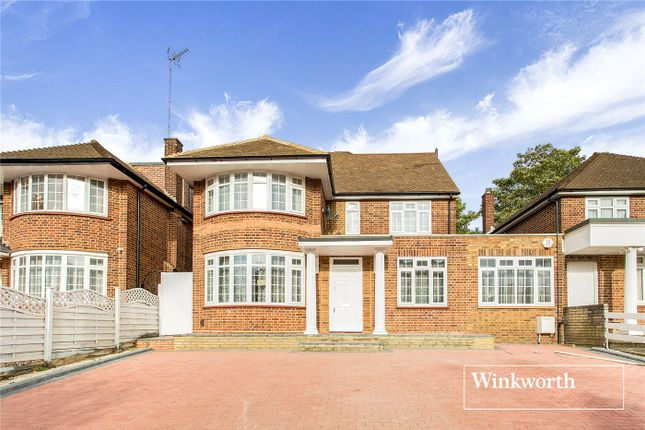 Thumbnail Detached house for sale in St. Mary's Avenue, Finchley, London
