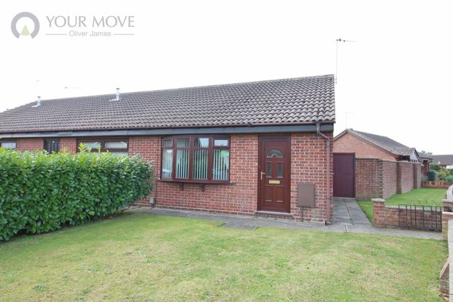Thumbnail Bungalow for sale in Blackbird Close, Bradwell, Great Yarmouth