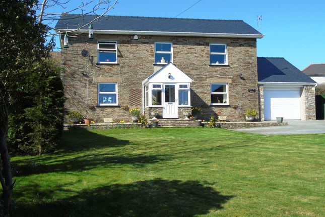 Thumbnail Detached house for sale in Llwyn-On Crescent, Oakdale, Blackwood