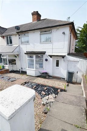 Thumbnail End terrace house for sale in Hartley Road, Kingstanding, Birmingham