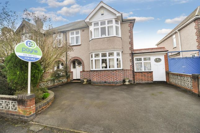 Thumbnail Semi-detached house for sale in Hartington Crescent, Earlsdon, Coventry