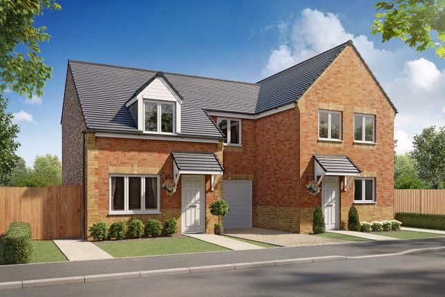 Thumbnail Semi-detached house for sale in Fergus, Greymoor Meadows, Kingstown Road, Carlisle