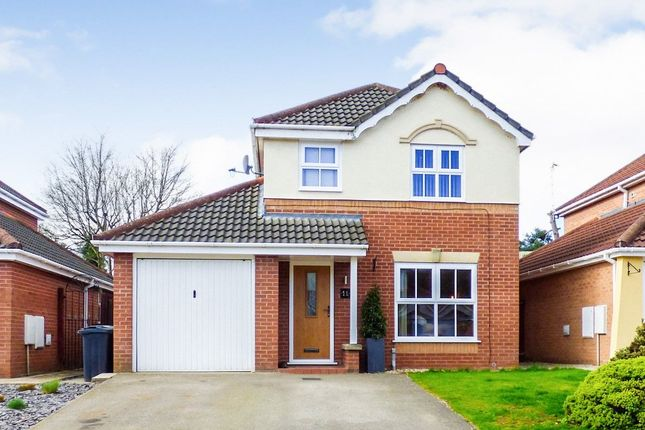 3 bed detached house to rent in Bramhalls Park, Anderton, Cheshire CW9