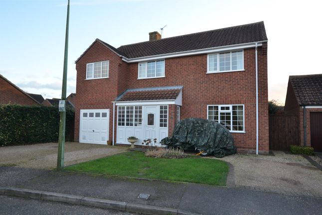 Thumbnail Detached house for sale in Sancroft Way, Fressingfield, Eye