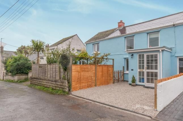Thumbnail Semi-detached house for sale in Praze, Camborne, Cornwall