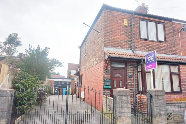 Thumbnail Semi-detached house for sale in Farm Street, Manchester