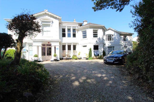 Thumbnail Flat to rent in Ridgeway Road, Lincombes, Torquay