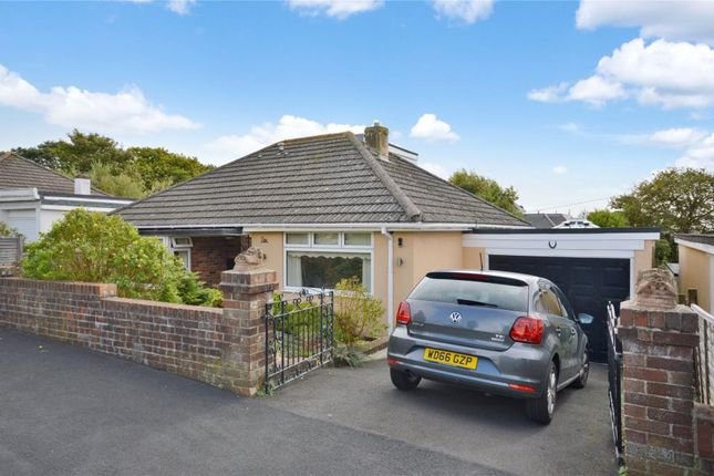 Thumbnail Detached bungalow for sale in Lyme Bay Road, Teignmouth, Devon