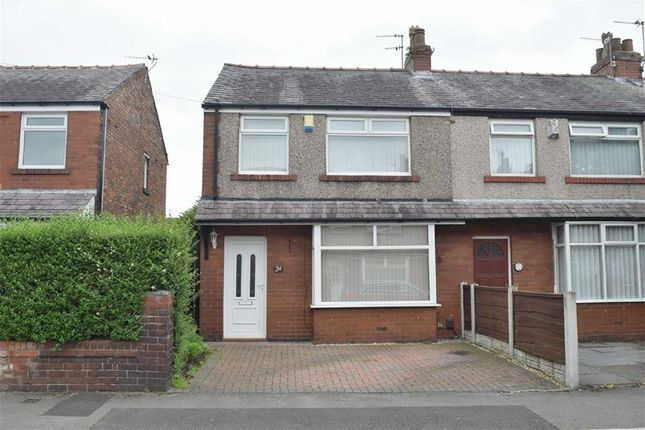 Thumbnail Semi-detached house to rent in Lowood Street, Leigh, Lancashire