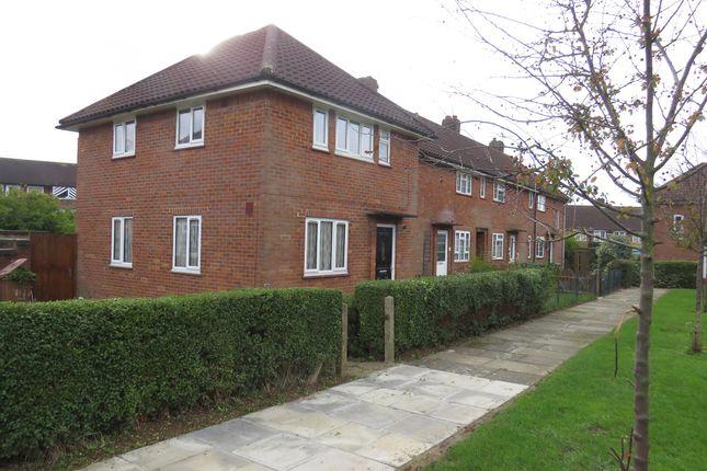 Thumbnail End terrace house for sale in Burgundy Croft, Welwyn Garden City