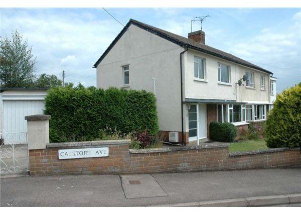 Thumbnail Semi-detached house for sale in Caestory Avenue, Raglan, Usk