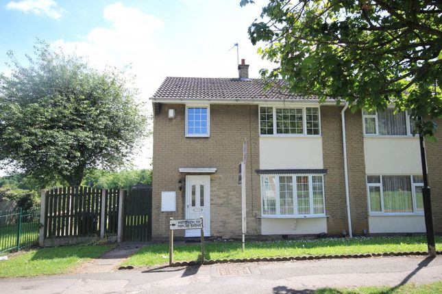 Thumbnail Semi-detached house to rent in Edlington Lane, Warmsworth, Doncaster