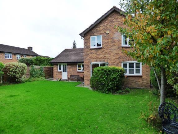 Rear Elevation of Broadwood Close, Disley, Stockport, Cheshire SK12