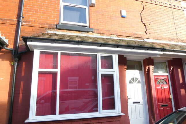 Thumbnail Terraced house to rent in Hibbert Street, Rusholme, Manchester