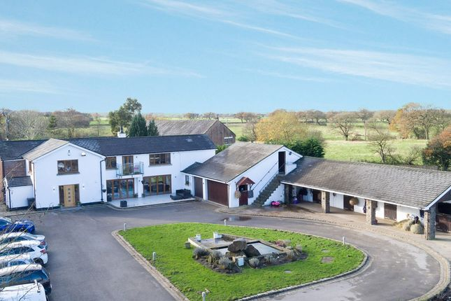 Thumbnail Equestrian property for sale in Back Lane, Charnock Richard, Chorley