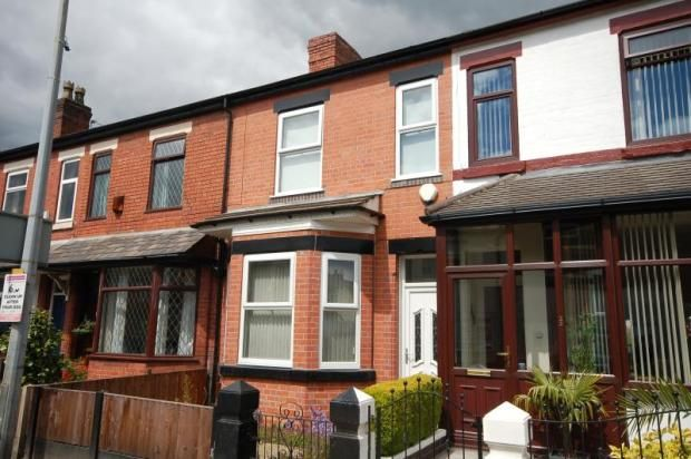 Thumbnail Terraced house to rent in Parrin Lane, Eccles, Manchester