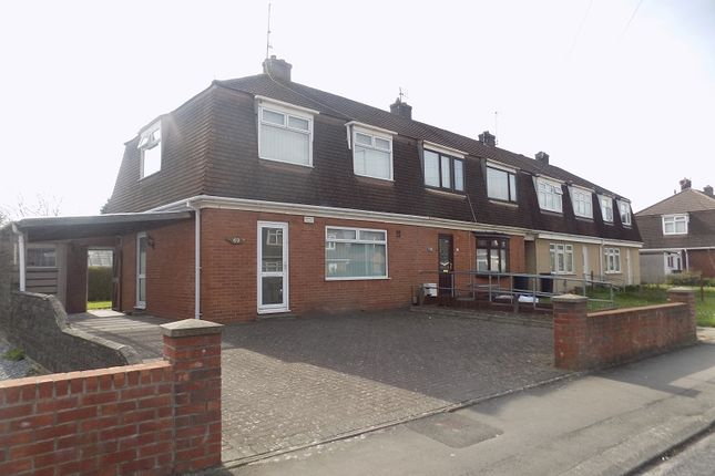 Thumbnail Semi-detached house for sale in Vivian Park Drive, Sandfields Estate, Port Talbot, Neath Port Talbot.