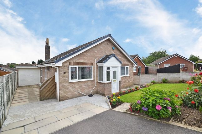 Thumbnail Detached bungalow for sale in Hollingthorpe Avenue, Hall Green, Wakefield