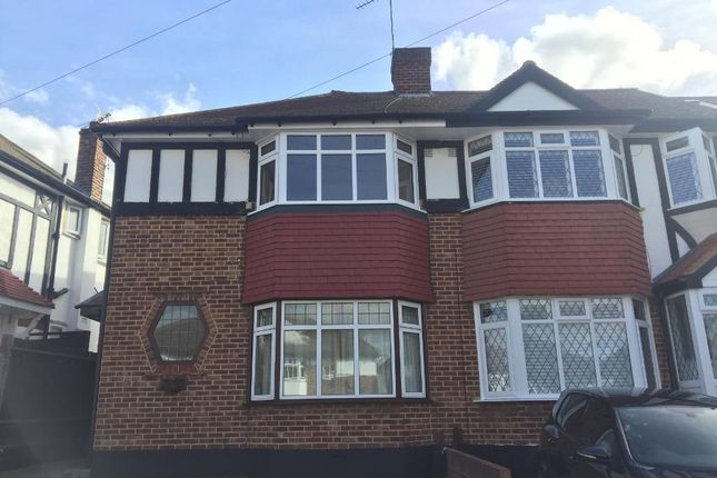 3 bed end terrace house to rent in Lynmouth Avenue, Morden