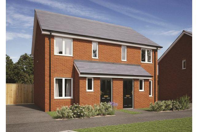 2 bed semi-detached house for sale in Plot 243, Badbury Park, Rainscombe Road, Swindon, Wiltshire