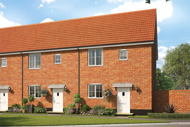 Thumbnail Terraced house for sale in Plot 22 Heronsgate, Blofield, Norwich, Norfolk