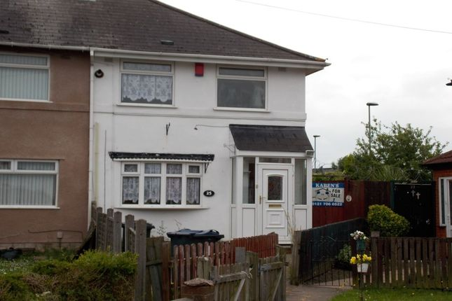 Thumbnail Terraced house to rent in Wandle Grove, Tyseley, Birmingham