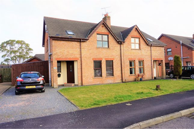 Thumbnail Semi-detached house for sale in Hillview Road, Carrickfergus