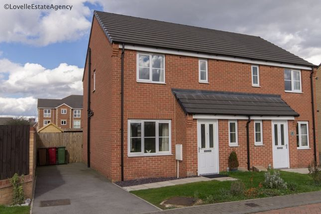 Thumbnail Semi-detached house to rent in Brambling Way, Scunthorpe
