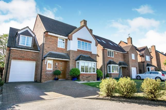 Thumbnail Detached house for sale in Bramley Close, Shefford, Bedfordshire