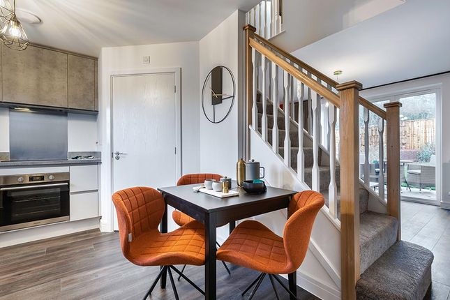 """Thumbnail Semi-detached house for sale in """"The Beckbridge"""" at Steeplechase Way, Market Harborough"""