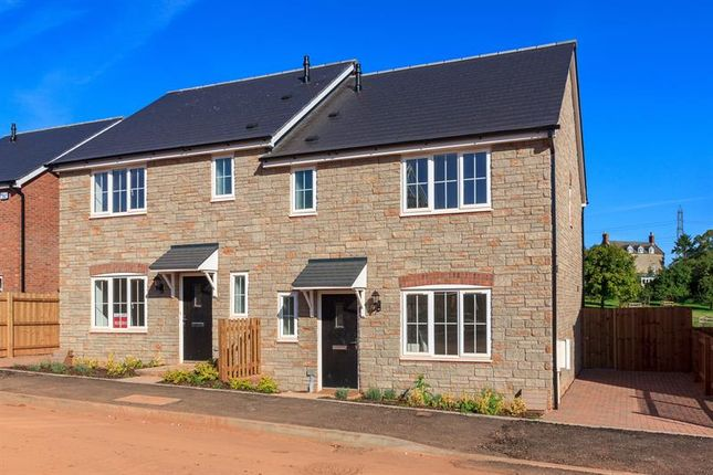 Thumbnail Semi-detached house for sale in Lea, Ross-On-Wye