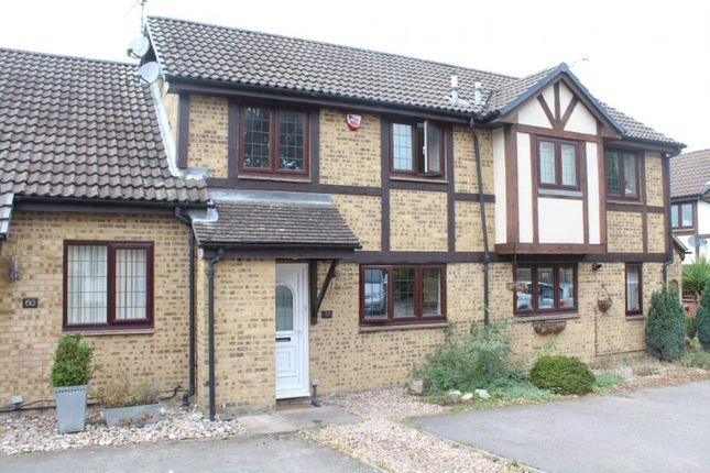 Thumbnail Terraced house to rent in Morley Close, Yateley