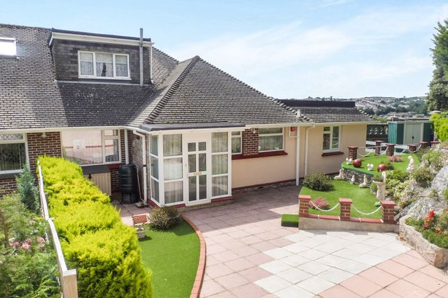 Thumbnail Semi-detached bungalow for sale in Lauriston Close, Torquay