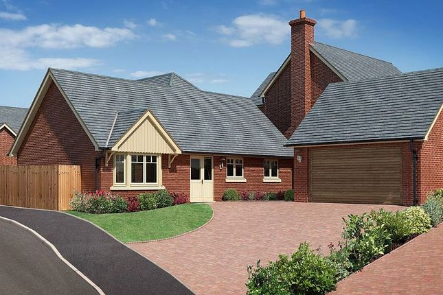 Thumbnail Detached bungalow for sale in The Beeches, Chester Road, Whitchurch, Shropshire