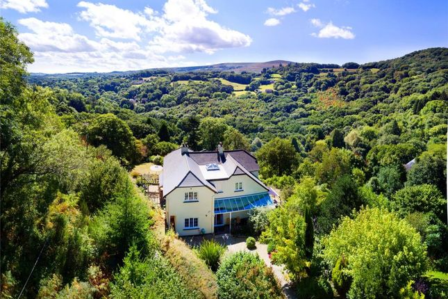 Thumbnail Detached house for sale in Mapstone Hill, Lustleigh, Newton Abbot, Devon