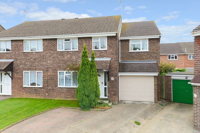 Thumbnail Semi-detached house for sale in Collard Road, Highfield Estate, Willesborough, Ashford