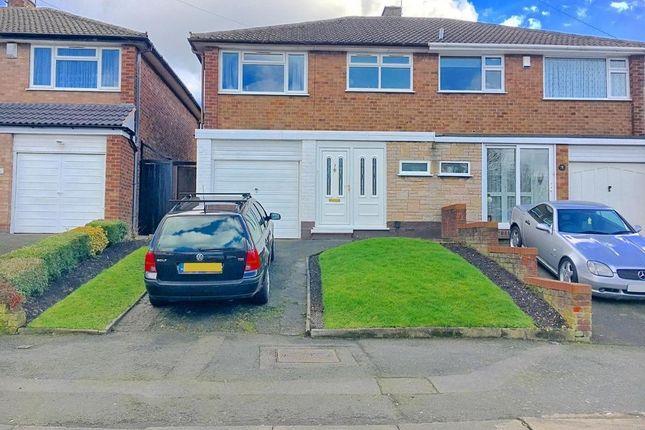Thumbnail Semi-detached house for sale in Norfolk Avenue, West Bromwich, West Midlands