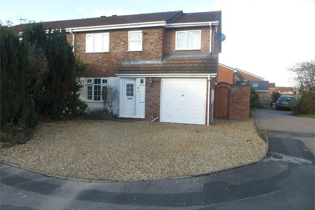 Thumbnail Semi-detached house to rent in Deanbrook Close, Monkspath, Solihull