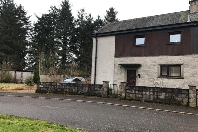 Thumbnail Semi-detached house for sale in Woodlands Avenue, Fern, Forfar