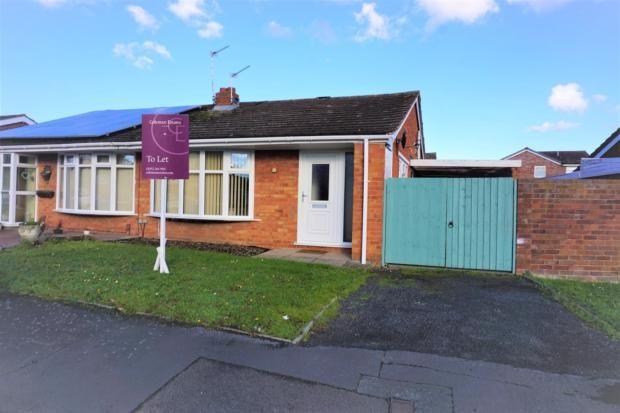 Thumbnail Bungalow to rent in Sutton Road, Admaston