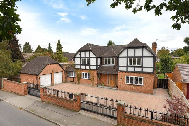 Thumbnail Detached house for sale in Gorse Ride North, Finchampstead, Wokingham, Berkshire