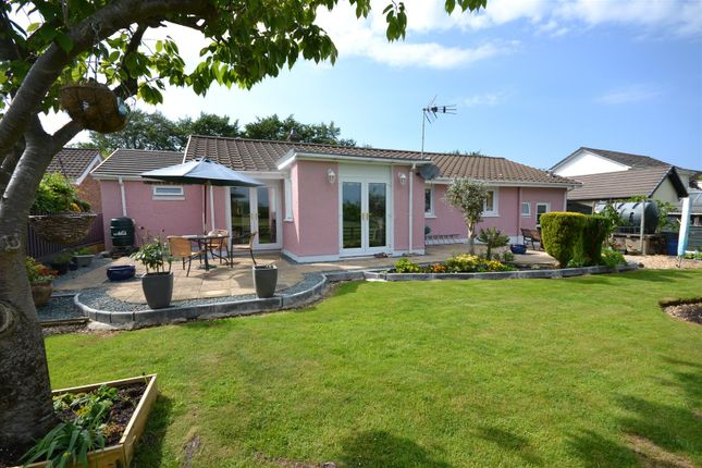 Thumbnail Detached bungalow for sale in Penrhiwgaled Lane, Cross Inn, Llandysul