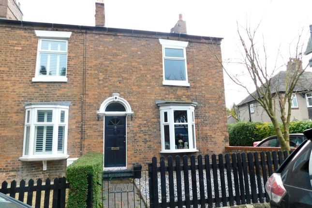 Thumbnail End terrace house for sale in Marsh Lane, Nantwich, Cheshire