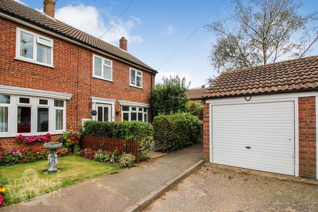 Thumbnail End terrace house to rent in Pearsons Close, Freethorpe, Norwich