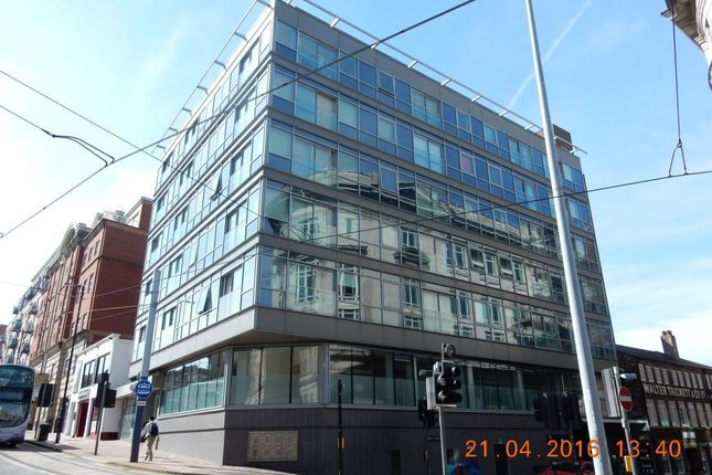 1 bed flat to rent in West Street, Sheffield