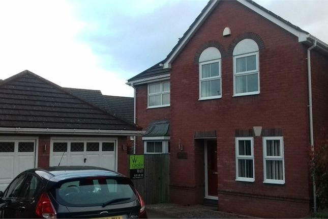Thumbnail Detached house to rent in Cadoc Close, Caerwent, Caldicot, Monmouthshire
