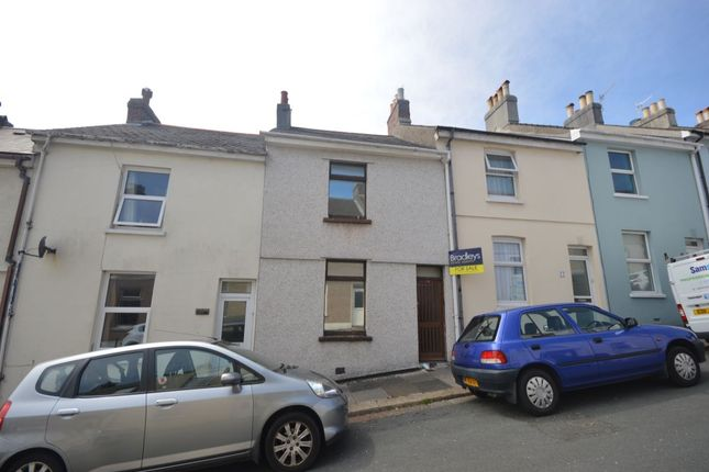 Thumbnail Terraced house for sale in Riga Terrace, Plymouth