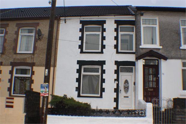 Thumbnail Terraced house to rent in Rhys Street, Trealaw, Rhondda Cynon Taff