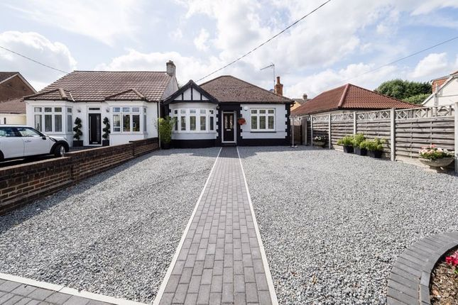Thumbnail Detached bungalow for sale in Willow Parade, Front Lane, Cranham, Upminster