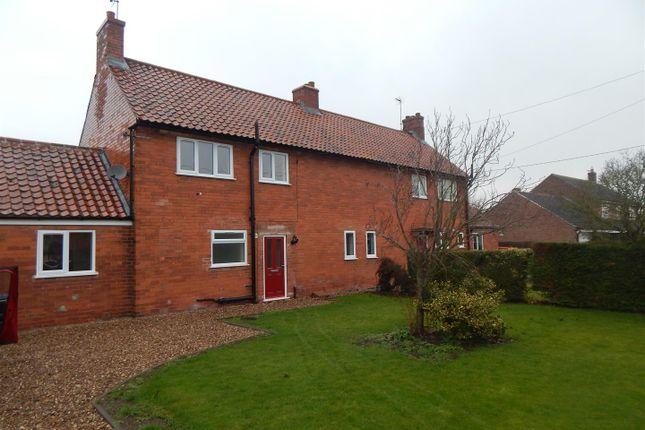 Thumbnail Semi-detached house to rent in Doddington Lane, Claypole, Newark